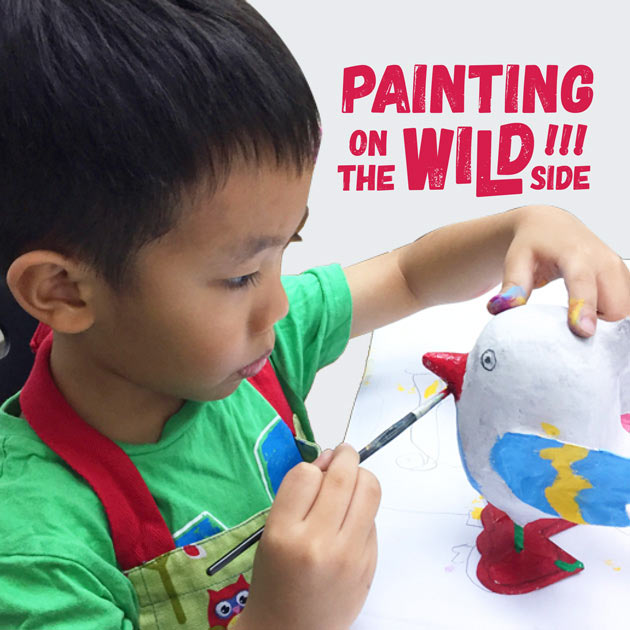 Painting on the Wild Side